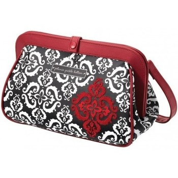 Sacs Fille Sacs à langer Petunia Pickle Bottom POCHETTE  CROSS TOWN CLUTCH FROLICKING IN FEZ Blanc