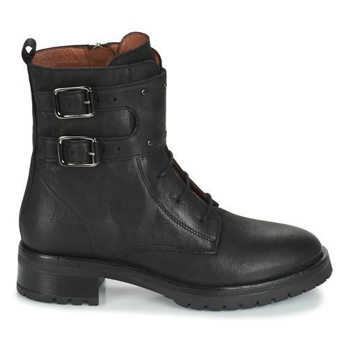Ikks Regnaut Noir - Livraison Gratuite- Chaussures Boot Femme 191