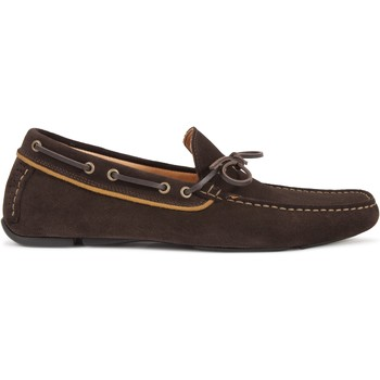 Chaussures Homme Mocassins Heyraud Driver Guy Marron