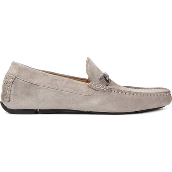 Chaussures Homme Mocassins Heyraud Driver GAD Gris