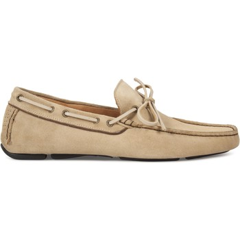 Chaussures Homme Mocassins Heyraud Driver GUY Beige