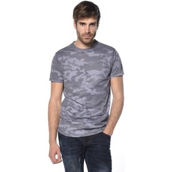 Vêtements Homme T-shirts & Polos Deeluxe T-shirt camouflage Scars noircamouflage