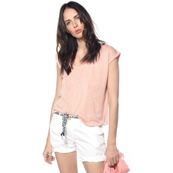 Vêtements Femme T-shirts & Polos Deeluxe T-shirt Honey roseclair