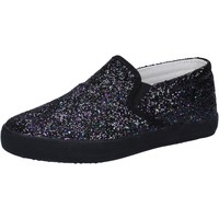 Chaussures Fille Slip ons Date chaussures fille D.A.T.E. (DATE) slip on noir glitter AD836 noir