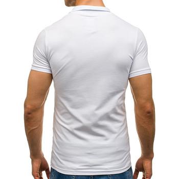 T shirtsamp; Blanc Homme Monsieurmode Polo Pour Polos Tendance Vêtements M10 D29YHIeWEb