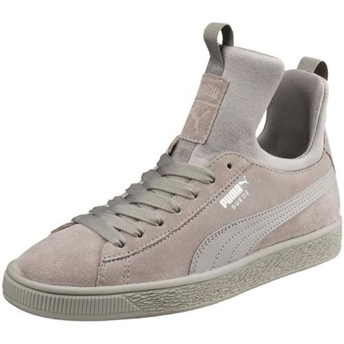 Puma 366010 gris - Chaussures Basket montante Femme