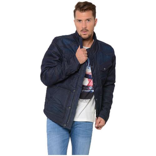 Vêtements Homme Blousons Kaporal Blouson Homme COME Bleu
