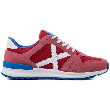 Chaussures Baskets basses Munich Fashion ALPHA 10 Rouge