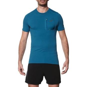 Vêtements Homme T-shirts manches courtes Asics Elite SS Top Bleu