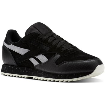 Chaussures Homme Baskets basses Reebok Sport Classic Leather Ripple SM Noir