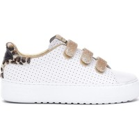 Chaussures Femme Baskets mode Sérafini Femme serafini sneakers leopard white blanc