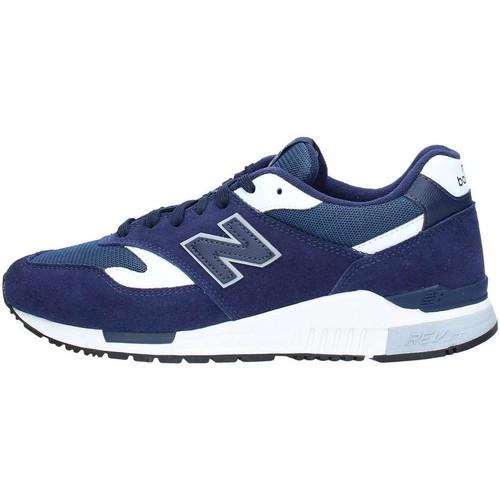 New Balance ML840AG Basket Homme Blue Navy Blue Navy - Chaussures Baskets basses Homme
