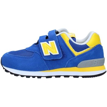 Chaussures Garçon Baskets basses New Balance YV574BY Basket Garçon Blue / Yellow Blue / Yellow
