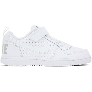 Chaussures Fille Baskets basses Nike COURT BOROUGH LOW PSV blanc