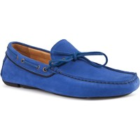 Chaussures Homme Chaussures bateau Heyraud Driver GUY Bleu