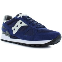 Chaussures Homme Baskets basses Saucony Shadow bleu