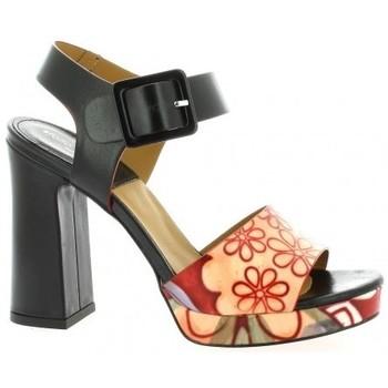 Chaussures Femme Sandales et Nu-pieds Nuova Riviera Nu pieds cuir Noir