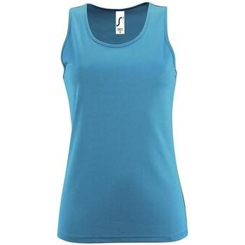 Vêtements Femme Débardeurs / T-shirts sans manche Sols SPORT TT WOMEN Azul