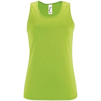 Vêtements Femme Débardeurs / T-shirts sans manche Sols SPORT TT WOMEN Verde