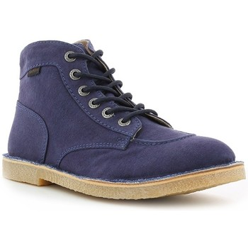 Chaussures Homme Boots Kickers ORILEGEND TOILE Marine