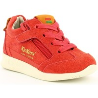 Chaussures Enfant Baskets basses Kickers KICK 18 BB Rouge