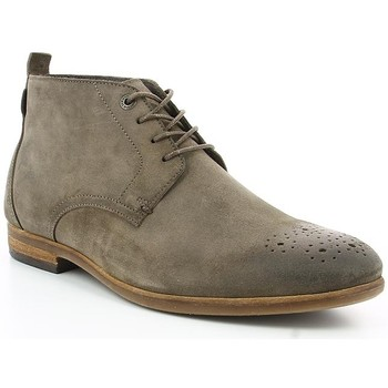 Chaussures Homme Boots Kickers TAROT Gris Taupe