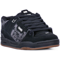 Chaussures Homme Baskets basses Globe FUSION BLACK JACQUARD Nero