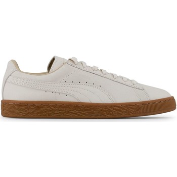 Chaussures Homme Baskets mode Puma - Baskets Suede Classic winterized - Blanc Blanc