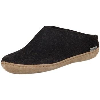 Chaussures Femme Chaussons Glerups DK Charcoal Lammwollfilz Noir