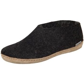 Chaussures Femme Chaussons Glerups DK Shoe Charcoal Lammwollfilz Noir