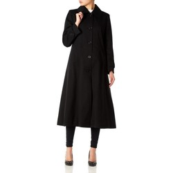Vêtements Femme Manteaux De La Creme Printemps long imperméable Black