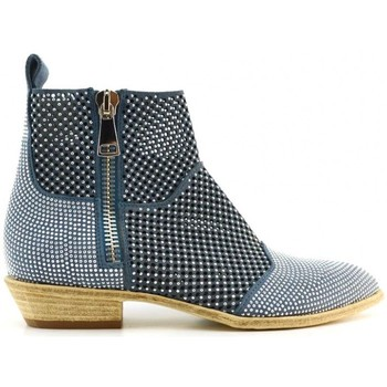 Chaussures Femme Bottines Fru.it 4389 bleu