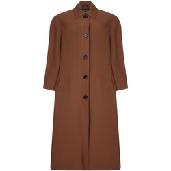 Vêtements Femme Manteaux De La Creme Printemps long imperméable Brown
