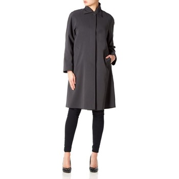 Vêtements Femme Manteaux De La Creme Imperméable long devant printemps Grey