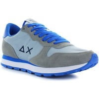 Chaussures Homme Baskets basses Sun68 Running Bicolor Nylon Gris