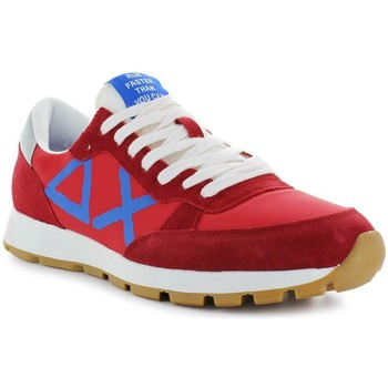 Chaussures Homme Baskets basses Sun68 Track Big Logo rouge