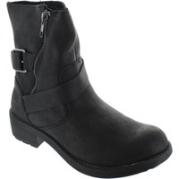 Chaussures Femme Bottines Rocket Dog Tour Lewis PU Noir
