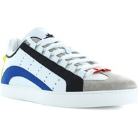 Chaussures Homme Baskets basses Dsquared 551 Low Sole blanc