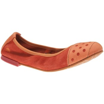 Chaussures Fille Ballerines / babies The Art Company A120 SUEDE-GAUCHO CORAL / CARIOCA Coral