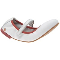 Chaussures Fille Ballerines / babies The Art Company A121 GAUCHO OPTICAL / CARIOCA Blanc