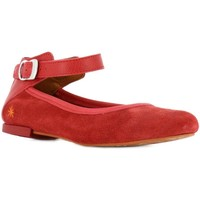 Chaussures Fille Ballerines / babies The Art Company A130 LUX SUEDE-GAUCHO TIBET / CARIOCA Rouge