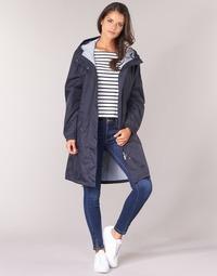 Vêtements Femme Parkas Aigle FIRSTRAIN Marine