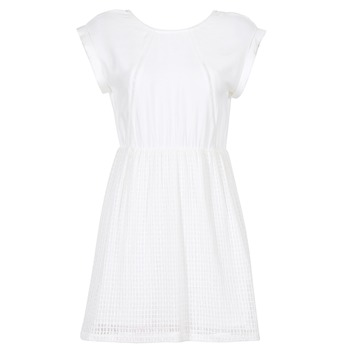 Vêtements Femme Robes courtes Moony Mood INDI Blanc