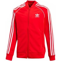 Vêtements Fille Vestes de survêtement adidas Originals J SST TOP Rouge
