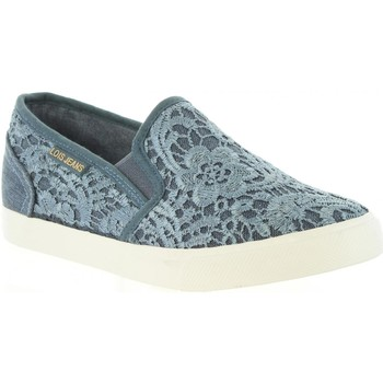 Chaussures Femme Slip ons Lois Jeans 61139 R1 Azul