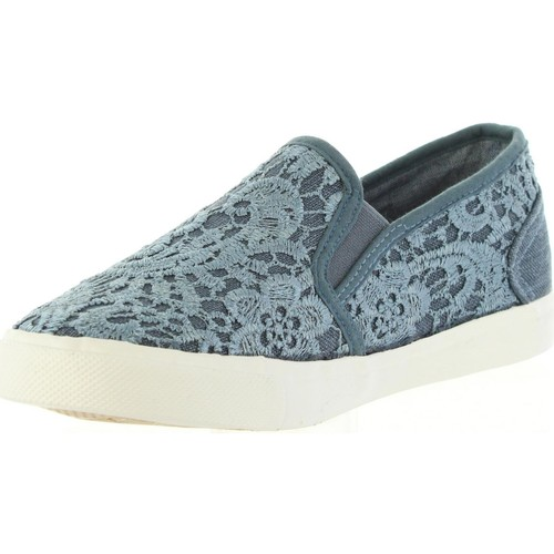 Lois 61139 R1 Azul - Chaussures Slip Ons Femme 36
