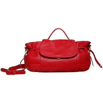 Sacs Femme Cabas / Sacs shopping Kate Lee Sac à main en cuir INDIA Rouge