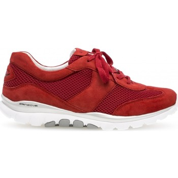 Chaussures Femme Baskets basses Gabor Baskets Rollingsoft beiges Rouge