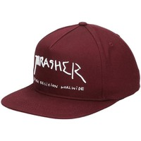 Accessoires textile Homme Casquettes Thrasher GORRAS  NEW RELIGION Rouge