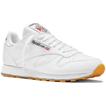 Chaussures Homme Baskets basses Reebok Sport Classic Leather - Ref. 49799 Blanc